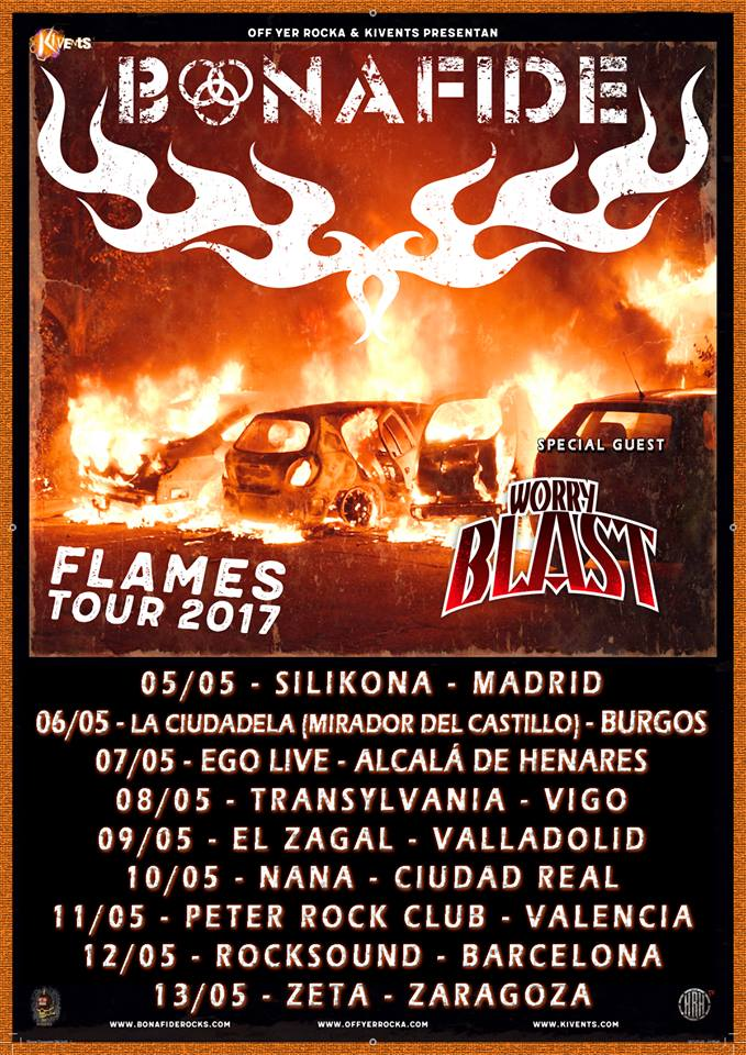FLAMES OVER SPAIN 2017 TOUR